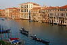Venice- view of the Grand Canal from hotel room